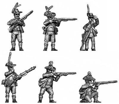 Tyrolean with firearm turned-up hat (28mm)