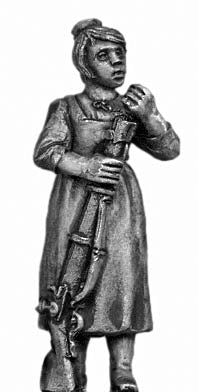 Tyrolean woman with firearm (28mm)