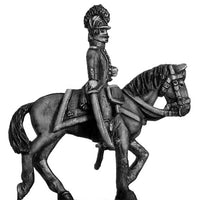 Chasseur mounted officer c1793-96, casque helmet, short tailed (28mm)