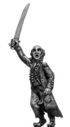 Light Infantry officer c1793-1800, ragged campaign uniform, none (28mm)