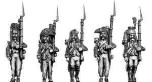 Ragged infantry characters (28mm)