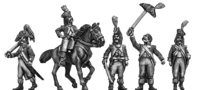 Ragged French Officers (28mm)