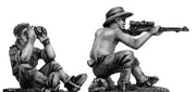 Australian infantry sniper team (28mm)