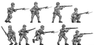 NEW - Japanese rifleman, skrim helmet (28mm)