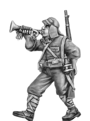 NEW - Japanese bugler, kepi (28mm)