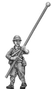 NEW - Japanese standard bearer, helmet (28mm)