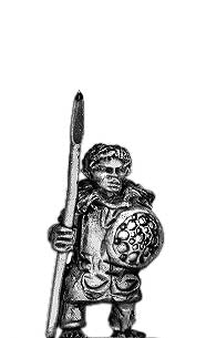 Abyssinian Chief on foot (15mm)