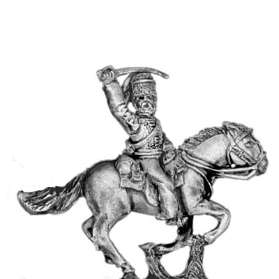 8th / 11th Hussar Officer (18mm)