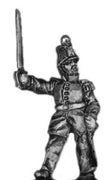 French Infantry Officer in shako (18mm)