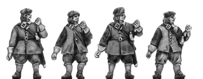 NEW - Scots Pike forward, unarmoured (18mm)