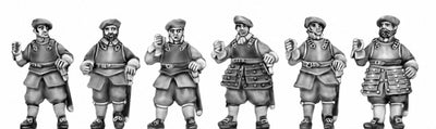 NEW - Scots Pike upright, armoured (18mm)