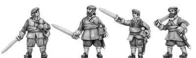 Scots Officer, sword (18mm)