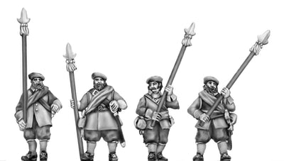 Scots Officer, partizan (18mm)