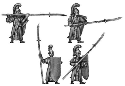 Elf with spear (18mm)