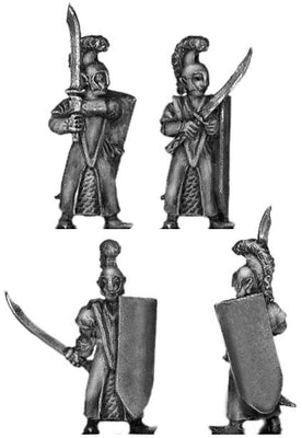 Elf with sword (18mm)