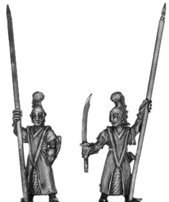 Elf standard bearer (18mm)