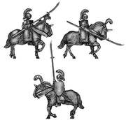 Elf cavalry with lance (18mm)