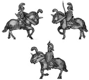 Elf cavalry with sword (18mm)