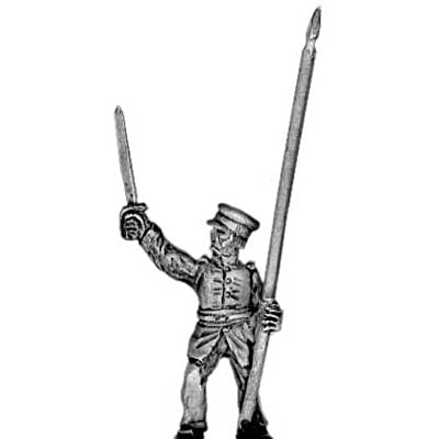 US Infantry standard bearer (18mm)