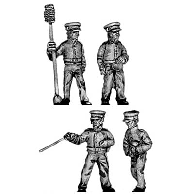 US Artillery crew (18mm)
