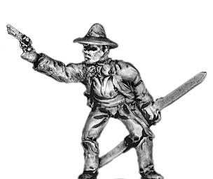 Texas Ranger Officer, dismounted (18mm)