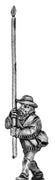 Texas Ranger Standard Bearer, dismounted (18mm)