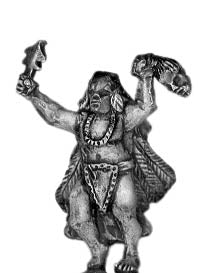 Mound Builder Shaman (15mm)