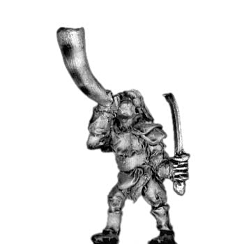 Man-Orc light infantry musician (18mm)