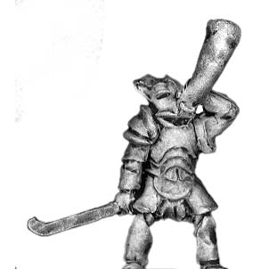 Armoured Man-Orc musician (18mm)