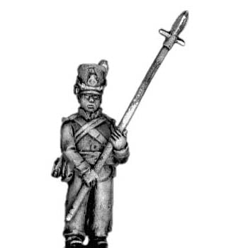 Sergeant with pike (18mm)