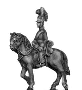 Household cavalry officer in helmet (18mm)