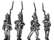 Fusilier, marching, in campaign dress (18mm)