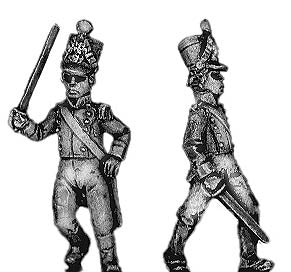 Dismounted Officer (18mm)