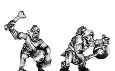 Orc musician (18mm)