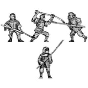Warrior Monks any period with naginata (15mm)