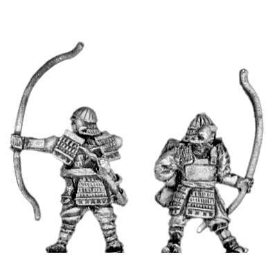 Samurai in heavy armour with bow (15mm)