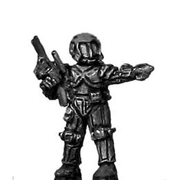 Ventauran trooper officer (15mm)