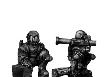 Ventauran trooper team with Light Anti-armour Weapon (15mm)