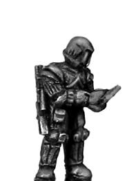 Ventauran trooper, comms (15mm)