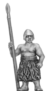 Guardsman with spear (15mm)