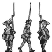 Prussian Musketeer, marching (18mm)