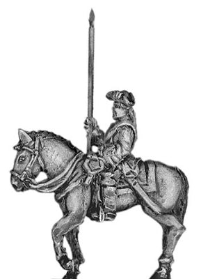 Prussian Dragoon standard bearer (18mm)