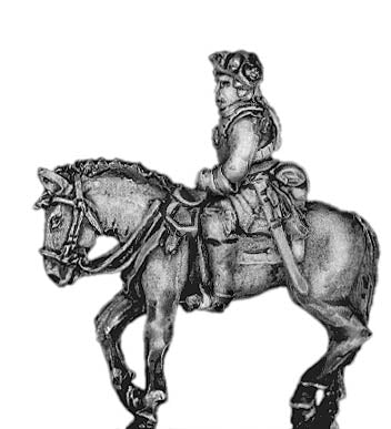Prussian Cuirassier officer (18mm)