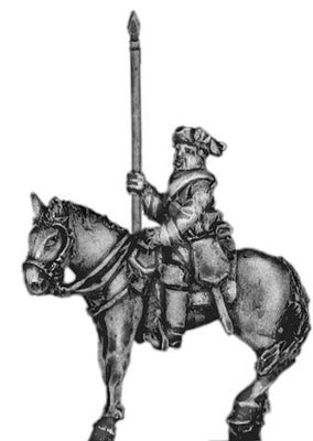 Prussian Cuirassier standard bearer (18mm)