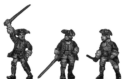 Russian Infantry Officer (18mm)