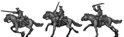 Russian Cuirassier, winter uniform (18mm)