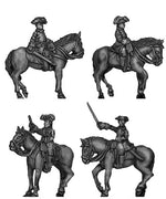 Russian mounted general staff (18mm)