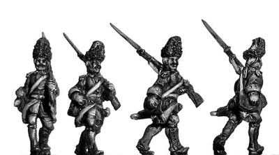 Grenadier de France, marching (18mm)