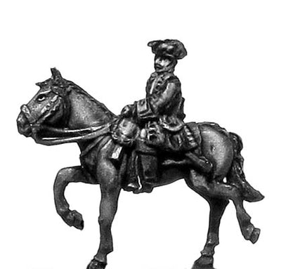 Chevau leger officer in tricorn (18mm)