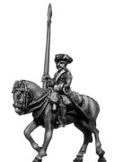 Chevau leger standard bearer in tricorn (18mm)